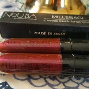 2 for 1 new Box- Nouba Millebaci Lipstick color 45